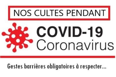 Bouton Logo covid-19